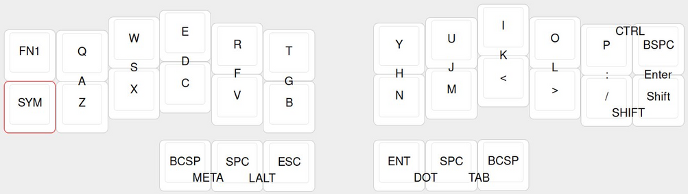 Chording QWERTY with QMK Combos | Floor and Varnish